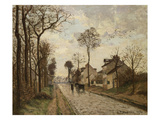 The Road to Saint-Cyr at Louveciennes  1870