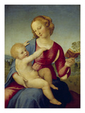 Mary and the Infant Christ (Madonna Colonna)  about 1508