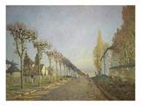 Chemin De La Machine (Or: La Route Du Chemin De Sevres)  1873