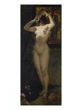 Weiblicher Akt Mit Maske  1877