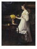 Arranging Daffodils  1894