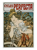 Poster Advertising &#39;Cycles Perfecta&#39;  1902
