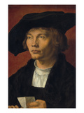 Portrait of a Young Man (Bernhard Von Reesen)  1521