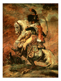 Officer of the Hussars on Horseback  1812/16