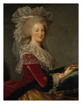 Portrait of Queen Marie Antoinette