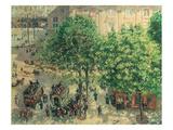 Place Du Theatre  Paris  1898