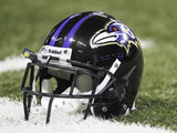 Baltimore Ravens - Sept 25  2011: Baltimore Ravens Helmet