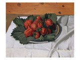 Still Life with Strawberries  1921