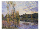 The Lake at Chevreuil  1888