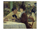 The Couple of Pere Lathuille  1879