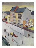 Unsere Strasse in Grau  1911