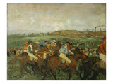 Before the Race (Course De Gentlemen)  1862