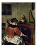 The Concert  about 1675