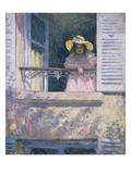 Young Girl with Sun Hat at the Window