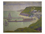 Harbour at Port-En-Bessin at High Tide  1888