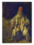 The Old Man with the Red Cap (Undated)