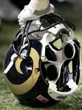 St Louis Rams - Aug 13  2011: St Louis Rams Helmet
