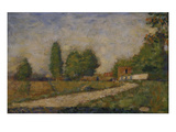 Landscape in the Surroundings of Paris  about 1883