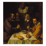 Luncheon  about 1617