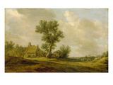 Landschaft Mit Bauernhaeusern