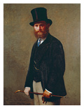 Portrait of Eduard Manet  1867