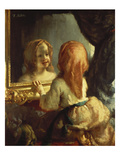 Antoinette Herbert Looking in the Mirror  1844