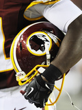 Washington Redskins - Aug 29  2012: Washington Redskins Helmet