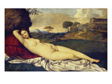 The Sleeping Venus  about 1510