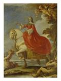 Dona Mariana Von Neuburg Zu Pferde