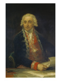 Bildnis des Juan De Villanueva  um 1800/1805