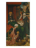 The Birth of the Virgin Weingartner Altarpiece  Dome  Augsburg