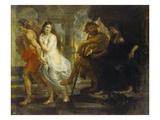 Orpheus Fuehrt Eurydike Aus Dem Hades  1636/38