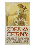 Plakat Zdenka Cerny - the Greatest Bohemian Violoncellist