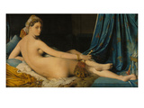 La Grande Odalisque  1814