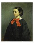 Portrait of Mademoiselle Jacquet  1857