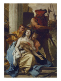 The Martyrdom of St Agatha  about 1750 (Altarpiece from S Agata  Lendinara)