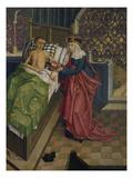 Altar des Nikolaus Puchner die Selige Agnes Pflegt Einen Kranken