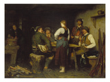 Poachers in a Mountain Cabin  1876
