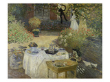 The Luncheon (Monet's Garden at Argenteuil)  about 1873