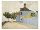 The Blue House  Zaandam  1871