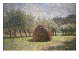 Haystacks at Giverny  1893
