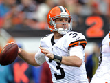 Cleveland Browns - Sept 23  2012: Brandon Weeden