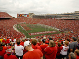 University of Wisconsin: A Sea of Red at Camp Randall on Game Day in Madison