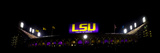 Louisiana State University: LSU's Tiger Stadium Night Game Panorama