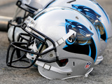 Carolina Panthers - Sept 20  2012: Carolina Panthers Helmet