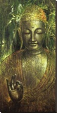 Buddha in Green l Tableau sur toile par Wei Ying-wu
