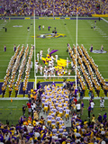 Louisiana State University: LSU Tigers Take the Field on Game Day