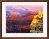 Grand Canyon from South Rim at Hopi Point  Grand Canyon National Park  Arizona