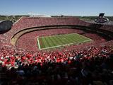 Kansas City Chiefs - Sept 9  2012: Arrowhead Stadium