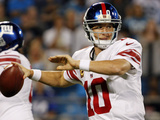 New York Giants - Sept 20  2012: Eli Manning